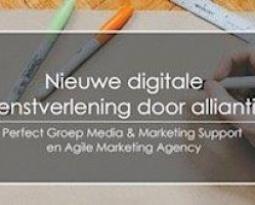 Nieuwe dienstverlening door alliantie met Agile Marketing Agency…