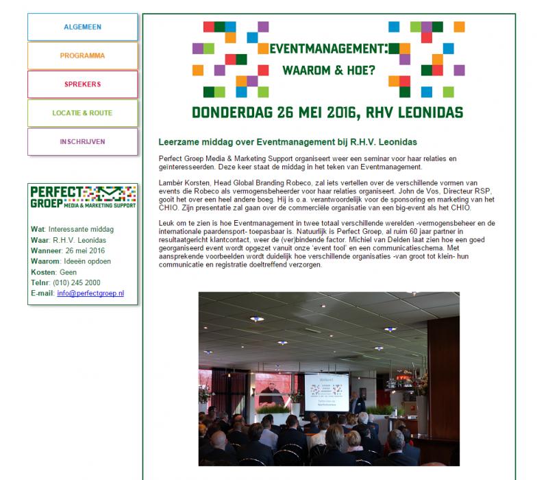 event-website